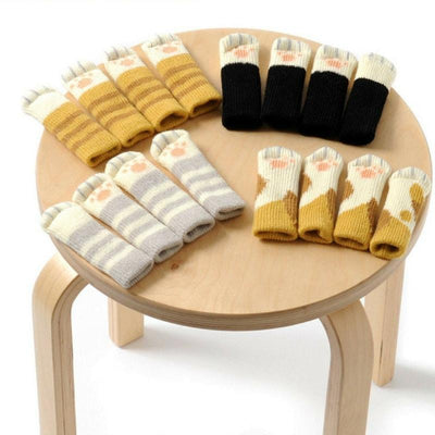 4pcs Cat Chair Leg Socks-Chair Cover-FreakyPet