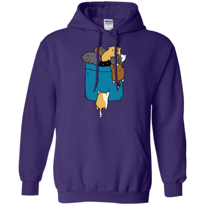 Crazy Cat Crowd Hoodie-FreakyPet