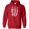 I Asked God For A Hero - He Sent Me My Badass Cat Hoodie-FreakyPet