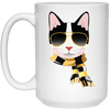 Carlo The Cool Cat Mug-Drinkware-FreakyPet