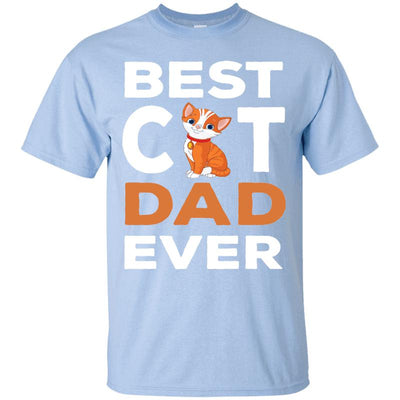 Best Cat Dad Ever T-shirt-FreakyPet