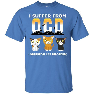 Obsessive Cat Disorder T-Shirt-T-Shirts-FreakyPet