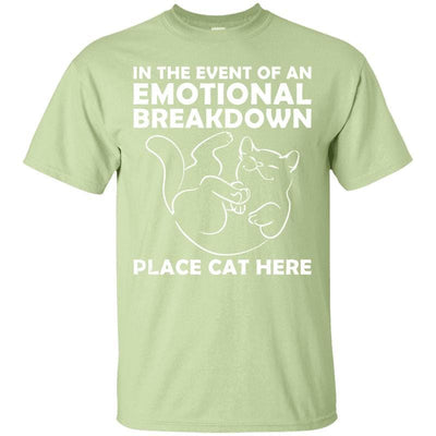 Emotional Breakdown Cat T-Shirt-T-Shirts-FreakyPet