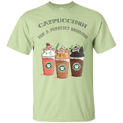 Catpuccino T-Shirt-T-Shirts-FreakyPet