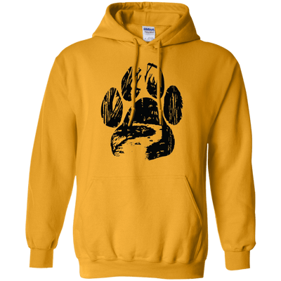Into The Forest Cat Paw Hoodie
