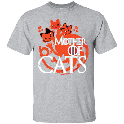 Mother Of Cats T-Shirt-T-Shirts-FreakyPet