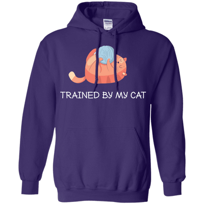 Trained By My Cat Hoodie