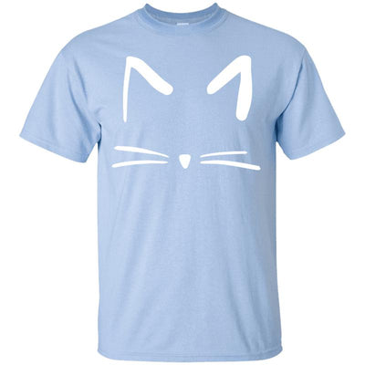 Cat Face T-Shirt-T-Shirts-FreakyPet