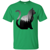 Forest Universe Cat T-Shirt-T-Shirts-FreakyPet