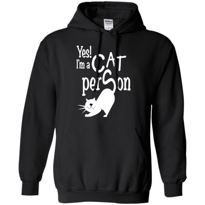 Yes! I Am A Cat Person Hoodie
