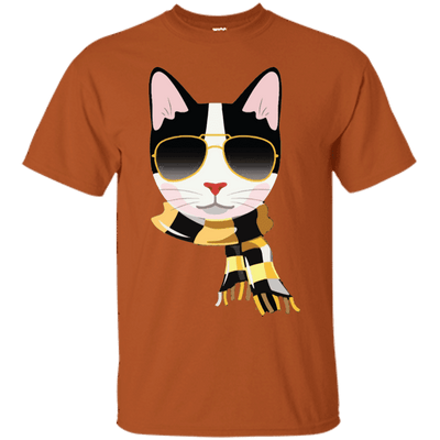 Carlo The Cool Cat T-Shirt-T-Shirts-FreakyPet