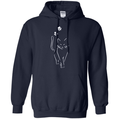 Graceful Cat Walk Hoodie