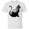 Forest Universe Cat T-Shirt