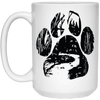 Into The Forest Cat Paw Mug