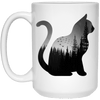 Mystical Black Cat Mug