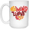All You Need Is Love And Cats Mug-FreakyPet