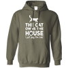 The Cat Owns The House Hoodie-FreakyPet