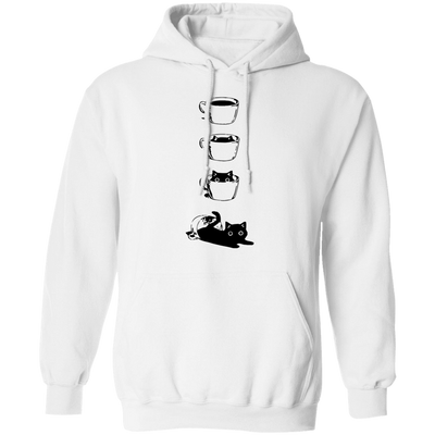 Emergence Of The Black Cat Hoodie-Sweatshirts-FreakyPet