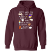 I Just Want To Read Books, Drink Coffee And Hang Out With My Cats Hoodie
