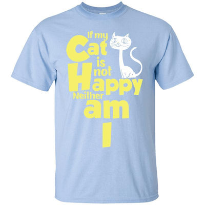 Happy Cat T-Shirt-T-Shirts-FreakyPet