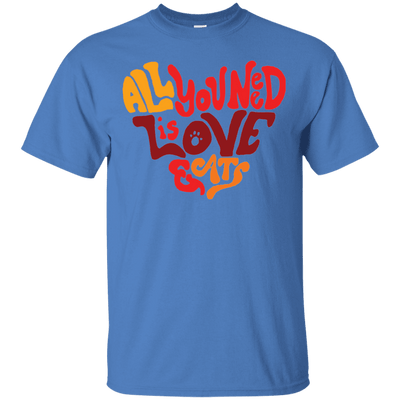All You Need Is Love And Cats T-Shirt