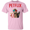 Petflix & Chill T-Shirt-FreakyPet