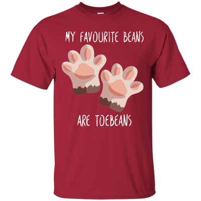 My Favourite Beans Are Toe Beans T-Shirt-T-Shirts-FreakyPet