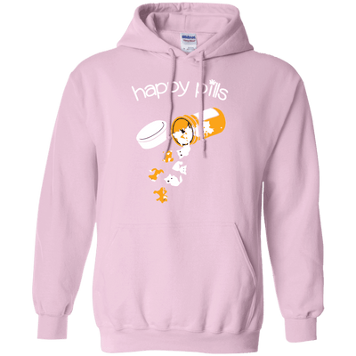 Happy Pills Hoodie-Sweatshirts-FreakyPet