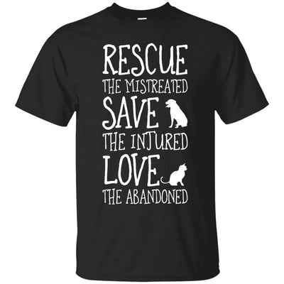 Rescue The Dog And Cat T-Shirt-FreakyPet