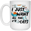I Just Want All The Cats Mug-FreakyPet