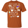 I Just Want To Read Books, Drink Coffee And Hang Out With My Cats T-Shirt-T-Shirts-FreakyPet