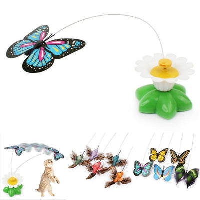 Electric Spin Me Around Butterfly Cat Toy-FreakyPet