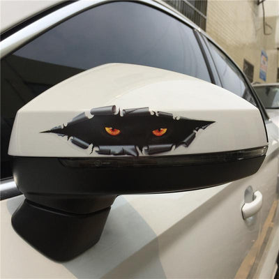 Cheeky Cat Car Sticker-FreakyPet