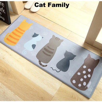 Silly Cute Cat Anti-Slip Doormats-Mat-FreakyPet