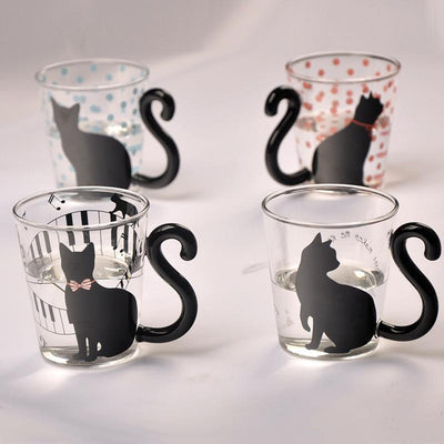 Tail Swing Cat Glasses
