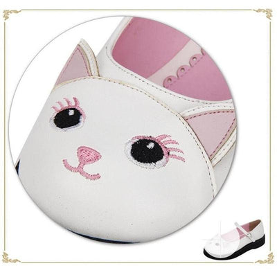 Pussy Pink Lolita Cat Shoes
