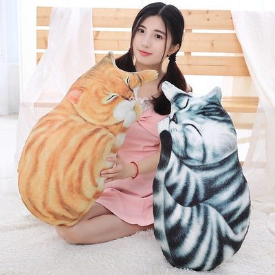 Life-Like Cat Plush Toy-FreakyPet