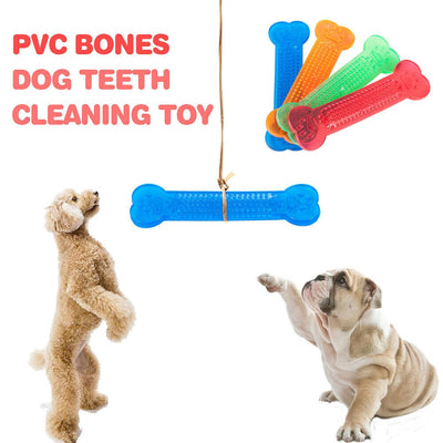 Dog Rubber Bone Toy For Playing & Healthy Teeth