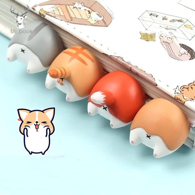 Cute Animal Dog Butt Bookmark