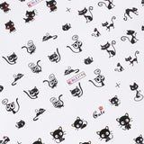 1 Sheet Cat Nail Art Sticker