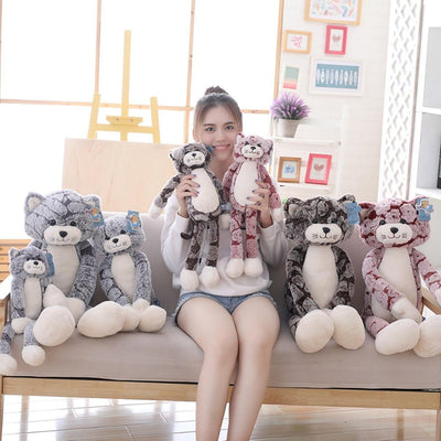 Soft Long Leg Huggable Cat Plush Toys-Home-FreakyPet