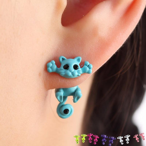 Carlos the Cat Ear Rings