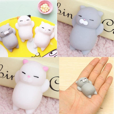 3pc Squishi Squeeze Cat-Mobile Phone Straps-FreakyPet