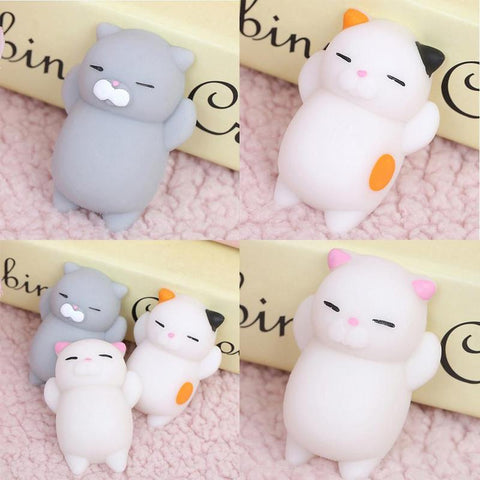 3pc Squishi Squeeze Cat