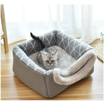 Soft Cats Dogs Nest Kennel Bed