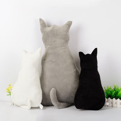 Creative Alice Back Cats Big Pillow-Cushion-FreakyPet