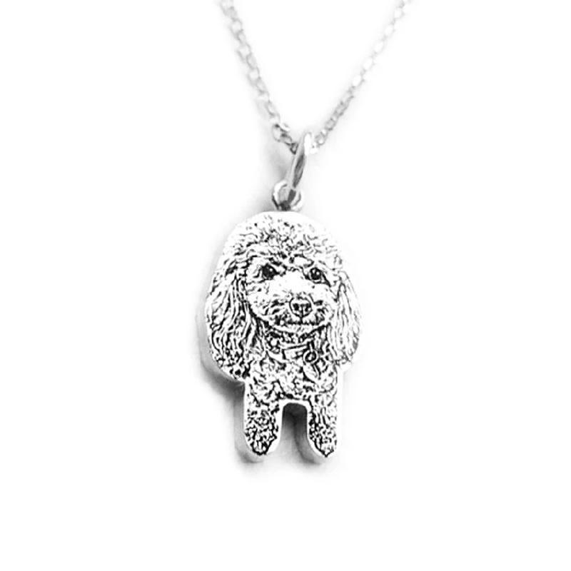 925 sterling silver custom pet necklace