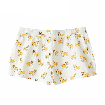 Cute Corgi Sleep Bottoms-FreakyPet