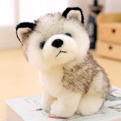 Cute Husky Plush Toy-Stuffed & Plush Animals-FreakyPet