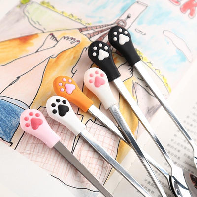 Stainless Steel Cute Cat Paw Spoons-FreakyPet